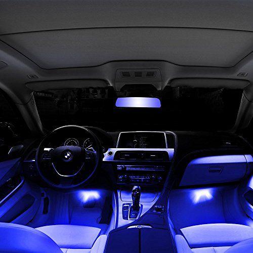 LED Φώτα Εσωτερικού Χώρου Αυτοκινήτου 12V Σετ 4τμχ - Idea Hellas 25fff3e9dea