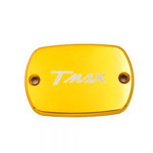 Προστατευτικό Διακοσμητικό Καπάκι Αλουμινίου Υγρών Φρένου για T-Max - Χρυσό