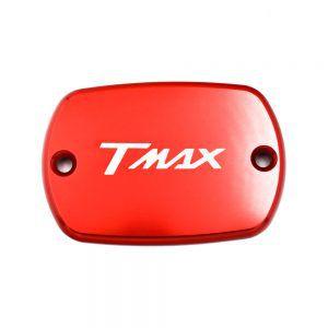 Προστατευτικό Διακοσμητικό Καπάκι Αλουμινίου Υγρών Φρένου για T-Max - Κόκκινο