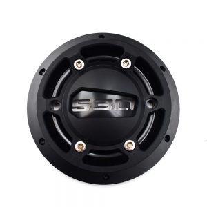 Προστατευτικό Κάλυμμα Αλουμινίου για Κινητήρα T-Max - Μαύρο