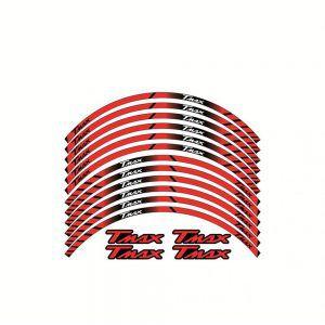 Σετ Αυτοκόλλητα Ζάντας για T-Max - Κόκκινα