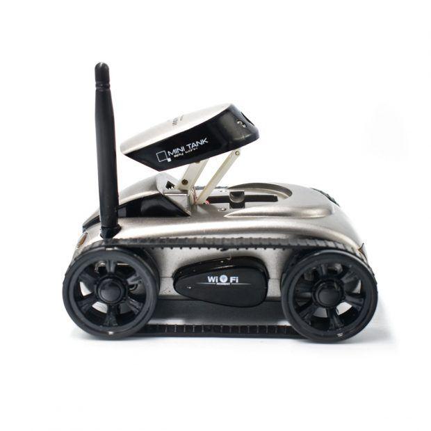 Mini i-Spy 4CH RC Tank WiFi