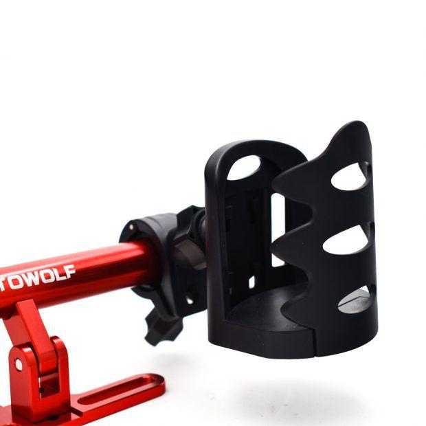 Ποτηροθήκη Μηχανής/Ποδηλάτου Ρυθμιζόμενου Μεγέθους - Μαύρη