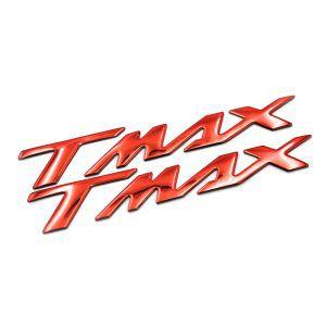 Σετ αυτοκόλλητα Yamaha T-Max σε κόκκινο χρώμα