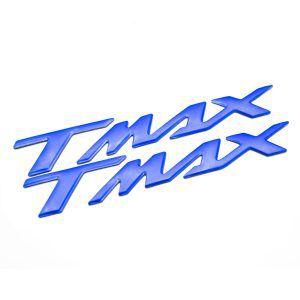 Σετ αυτοκόλλητα Yamaha T-Max σε μπλε χρώμα