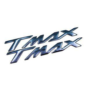 Σετ αυτοκόλλητα Yamaha T-Max σε μπλε μολυβί χρώμα