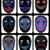 Μάσκα LED Bluetooth Μεταβαλλόμενων Εικόνων & Animation OEM SL016 – Μαύρο (1)
