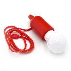 Φορητή Λάμπα LED με Κόκκινο Ντουί & Κορδόνι TY-6088